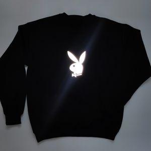 reflective Playboy bunny sweater